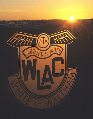 WLAC Insignia with the ATA Motto Aetheris Avidi - Eager for the Air